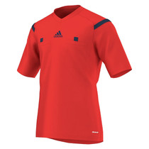 2014 Adidas Referee Jersey Short Sleeve (Red)
