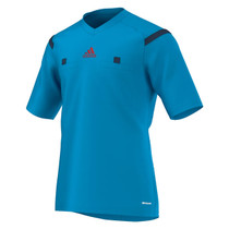 2014 Adidas Referee Jersey Short Sleeve (Solar Blue)