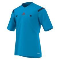 2014 Adidas Referee Jersey Short Sleeve (Solar Blue)