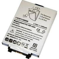 Delphi MyFi, Pioneer Airware, TAO XM2GO Replacement Battery