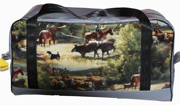 Travel Mate Bag  Fabric/PVC   52cmL X 28cmW X 25cm H