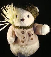 """Cherished Teddies  ~  BUDDY ... PLUSH  12"""" SNOWBEAR  *  NWT"""