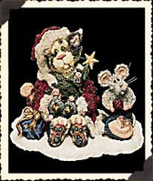 Boyd's  ~  SANTA CLAWS & NIBBLES...PURRFECT HOLIDAY