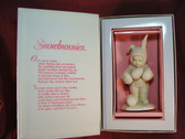 Snowbunnies  ~   OOPS I  DROPPED ONE  *  Retired * NIB