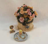 Boyd's  ~  PINKIE'S  FLOWER  BASKET ... MOM  *  NEW From Our Retail Shop
