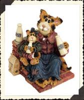 Boyd's  ~  MOMMA CRAFTYCAT W/LIL' SIPPER...Got Cream?  * 3E