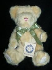 """Baby Boyd's  ~  KOOKIE SNICKLEFRITZ ... 10"""" Soft Yellow Bear  *  NEW"""
