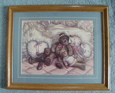 "BEARS NAPTIME ... Framed & Matted  PICTURE  *  18"" x 22.5"""
