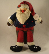 Delton  ~  SANTA With DANGLING LEGS ... Blue & Red  *  NEW From Our Retail shop