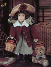 Boyd's Doll  ~  CANDICE With MACINTOSH ... Gathering Apples  *  NEW From Our Retail Shop