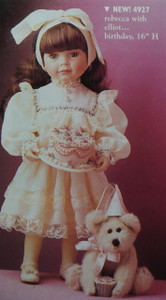 Boyd's Doll  ~  REBECCA With ELLIOT ... Birthday  *  NEW From Our Retail Shop