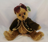 """Bearington ~ TESS ... 8"""" Victorian Bear w/Jacket  *  NEW From Our Retail Shop"""