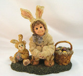 Boyd's Dollstone ~ HEATHER w/LAUREN ... Bunny Helper * MINT Condition w/BOX