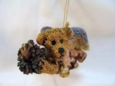 Boyd's  ~  HOPE ... Angel Bear w/Wreath Ornament * MINT Condition