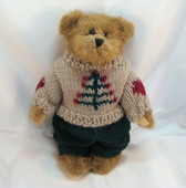 """Boyd's  ~  EDMUND ... 8"""" Bear w/Sweater  *FALL 1995*  NEW From Our Shop"""