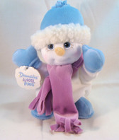 "Dreamsicles  ~  SHIVERS ... 8"" Snowman ANGEL HUGS  *  NEW From Our Retail Shop"