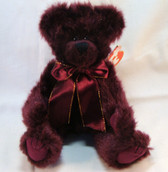 """TY  ~  BEARGUNDY ... Attic Treasure 8"""" Bear  *  NEW From Our Retail Shop"""