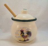 Noel  ~  HONEY POT ... Rooster Design  *  NEW From Our Shop