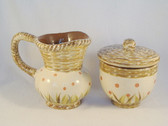 Enesco's Isabelle ... ROOSTER SUGAR & CREAMER   *  NEW From Our Shop