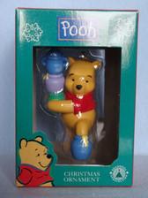 Disney Pooh ~ POOH With HUNNY POTS ORNAMENT * MIB