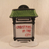 Dept 56  ~  CHRISTMAS IN THE CITY ... Sign * NEW From Our Retail Shop