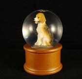 Westland  ~  BASSETT  HOUND  DOG  Water Globe  *  NIB