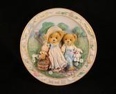 Cherished Teddies  ~  JACK & JILL ... Plate  *  NIB