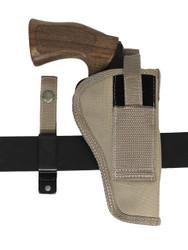 """New Barsony Desert Sand 360Carry 12 Option OWB IWB C/D Holster for 4"""" Revolvers (#360C-4DS)"""