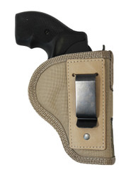 "New Desert Sand Inside the Waistband Belt Holster for 2"", Snub-Nose .38 .357 (#67-8DS)"