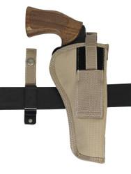 """New Barsony Desert Sand 360Carry 8 Option OWB C/D Holster for 6"""" Revolvers (#360C-6DS)"""