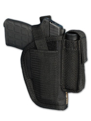 New OWB Belt Gun Holster with Magazine Pouch for .380, Ultra-Compact 9mm 40 45 (#47-2)