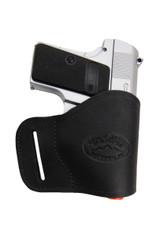 New Black Leather Yaqui Gun Holster for Mini/ Pocket 22 25 32 380 Pistols (#19MBL)