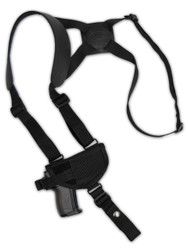 New Horizontal Cross Harness Gun Shoulder Holster for Mini 22 25 32 380 Pistols (#49HOR)