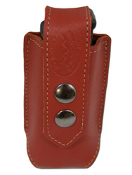 New Burgundy Leather Single Magazine Pouch (#BU1MAG)