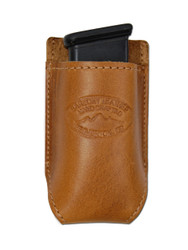 New Saddle Tan Leather Single Magazine Pouch (#CST1MAG)
