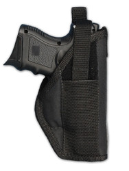 New OWB Belt Gun Holster for Compact Sub-Compact 9mm .40 .45 Pistols with LASER (#22L)