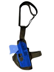 New Ankle Gun Holster for Mini/Pocket .22 .25 .32 .380 Pistols with LASER (07L)