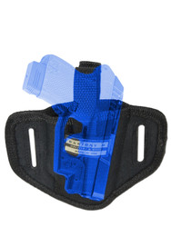 New Ambidextrous Pancake Gun Holster for Mini/Pocket .22 .25 .32 .380 Pistols with LASER (#L34s)