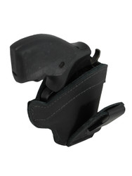 "New Black Leather Tuckable IWB Holster for Snub Nose 2"" 22 38 357 41 44 Revolvers (TU68-8BL)"