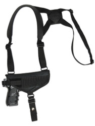 New Horizontal Cross Harness Shoulder Holster for Full Size 9mm 40 45 Pistols (#32HOR)