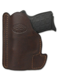 New Brown Leather Concealment Pocket Gun Holster for Compact 9mm 40 45 Pistols (PO22BR)