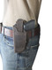 Left hand draw OWB holster