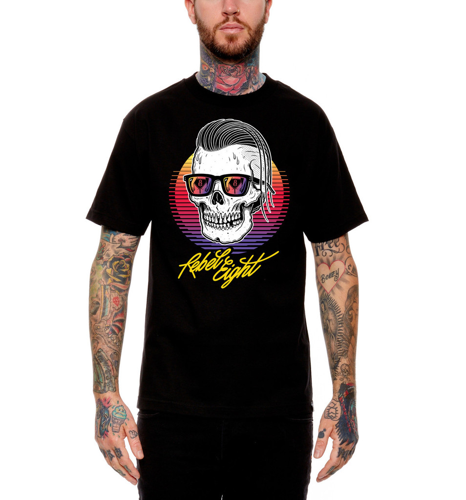 Rebel8 Sleeze T-Shirt - Front