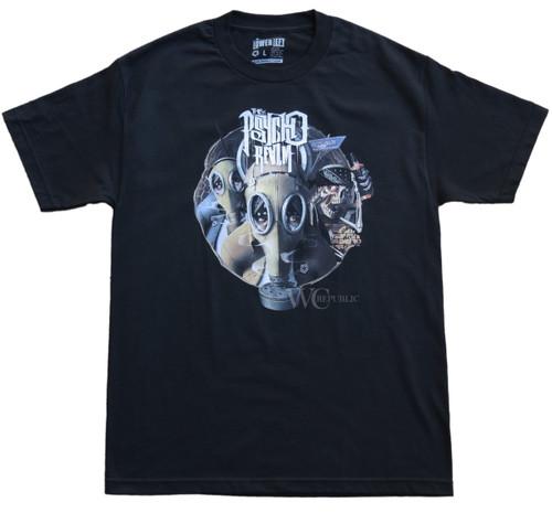 Psycho Realm Gas Mask T-Shirt  x Tribal Gear