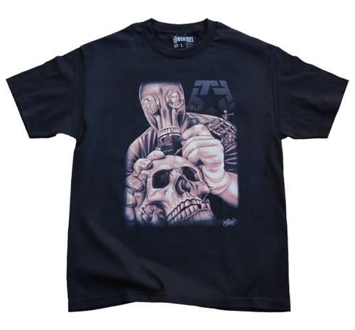 Tribal Sal Gasmask T-Shirt
