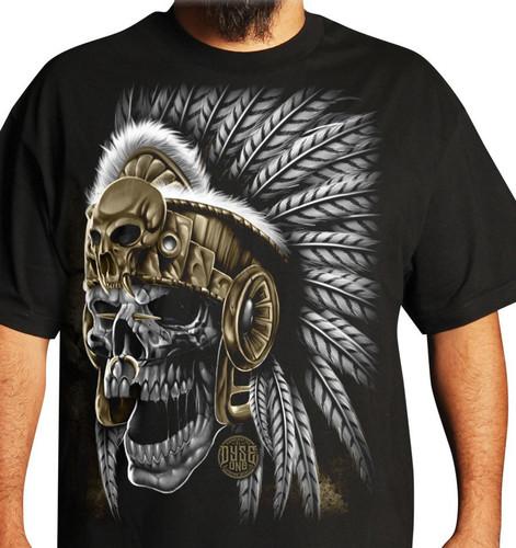 Dyse One Aztec Skull T-Shirt