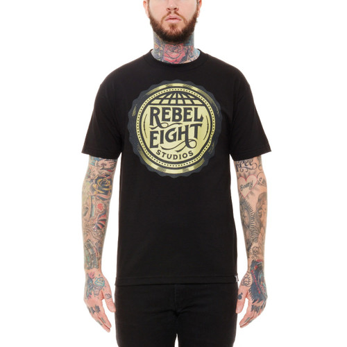 Rebel8 Studios Tee in black