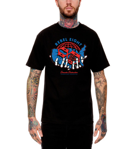 Rebel8 Domestic Destruction T-Shirt - Front