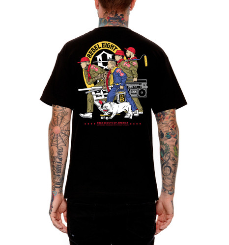Rebel8 RBL8 Scouts T-Shirt - Back