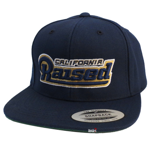 Streetwise Home Sick Snapback Hat (Navy)
